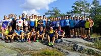 Soustředění na švédsko-norské hranici